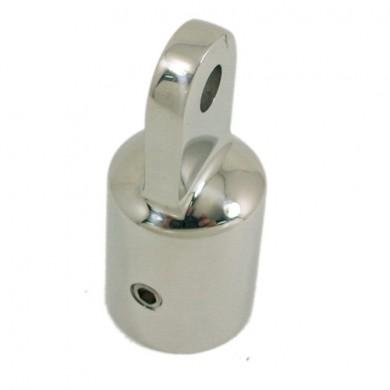 Накрайник за тента / релинг  22/25 мм inox