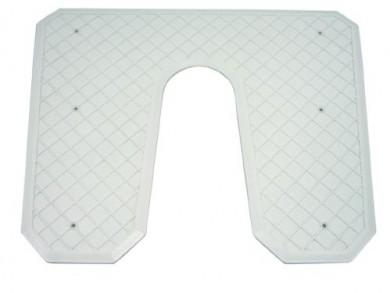 Транцева платка 445х363x6мм пластмаса