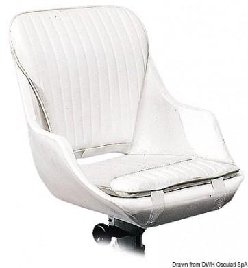 Седалка въртяща тапицирана 48х52х48см