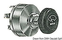 Бутон за управление на стъклочистачки 12V