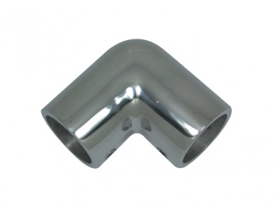 Коляно за релинг f22-25mm inox