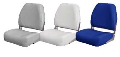 Седалка за лодка сгъваема тапицирана 35х40см