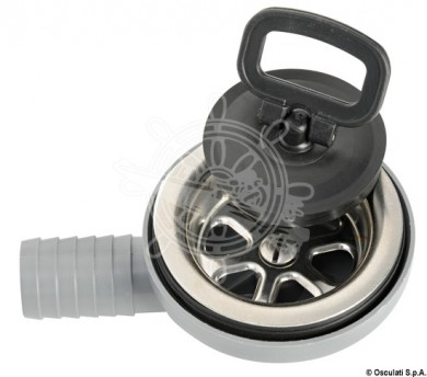 Отводнителен сифон за мивка 90* 22/25мм