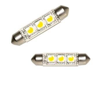 Резервна крушка LED 12/24V 42mm