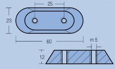 Aнод цинков FG-1