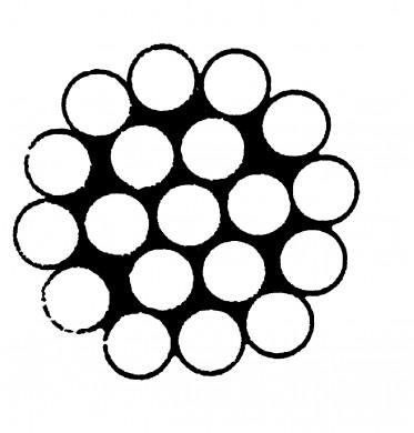 Въже метално inox 316 1x19
