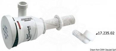 Електрическа помпа за рибен резервоар 12V 38/52л