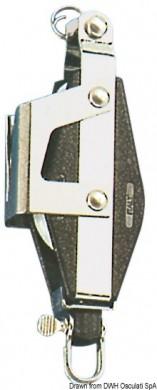 Двоен вертикален шарнир със стопор и пръстен