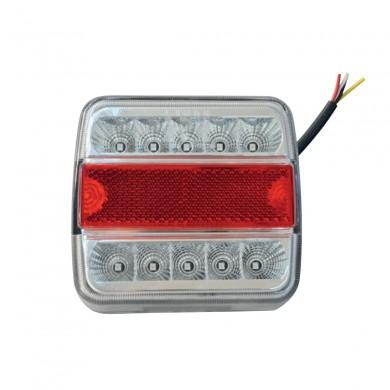 Стоп светлина LED за колесар 110х99мм