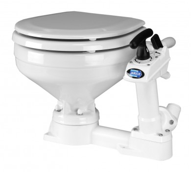 Тоалетна JABSCO САЩ компактна 34x45x41cm