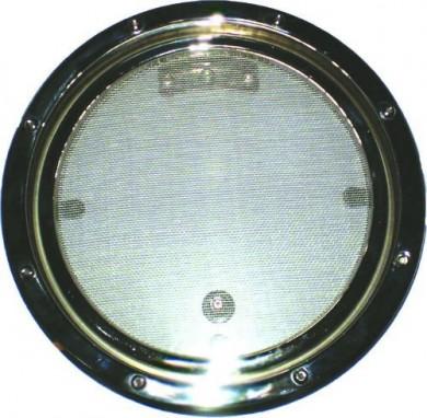 Финестрин кръгъл с неръждаема рамка