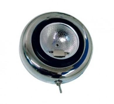 Лампа таванна с ключ inox 12V 20W