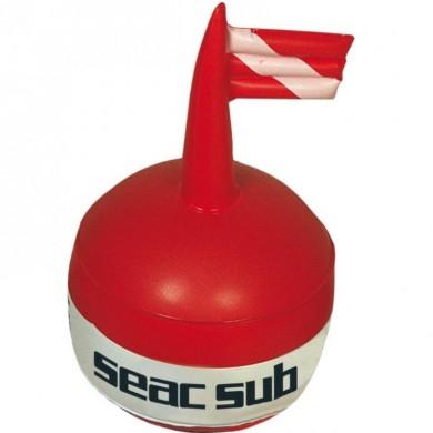 Водолазен буй, сферичен с флаг Seac Sub